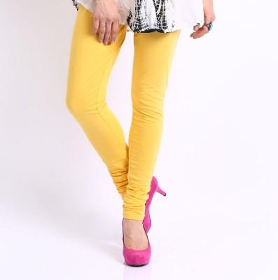 Zadine Women's Yellow Leggings