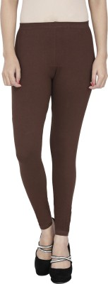 Anekaant Girl's Brown Leggings