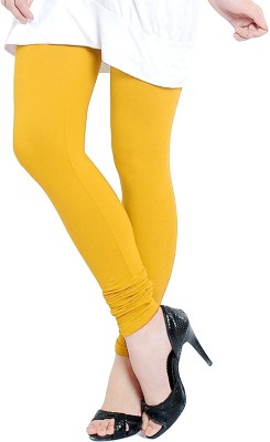 MeritFashion Women's Yellow Leggings