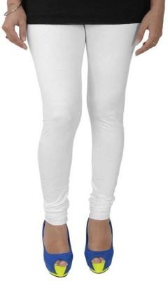 Fashioncrush Women's White Leggings
