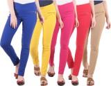 Diaz Women's Multicolor Jeggings (Pack o...