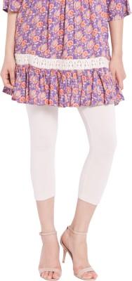 Globus Women,s White Leggings