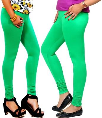 By The Way Women's Green, Light Green Leggings