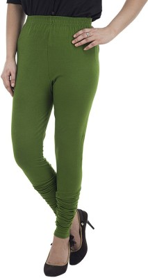 Marveto Women's Dark Green Leggings