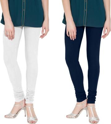 Nicewear Women's White, Blue Leggings