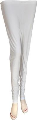 Balaji Creations Women's White Leggings