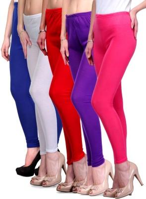Rowena Women's Blue, Red, White, Pink, Purple Leggings