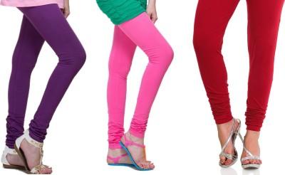 Lienz Women's Purple, Pink, Red Leggings