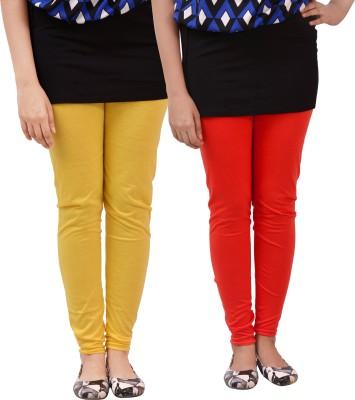 carrol Women's Red, Yellow Leggings