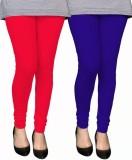 PAMO Women's Red, Blue Leggings (Pack of...