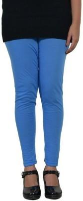 Desi Fusion Women's Light Blue Leggings