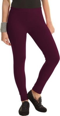 Groversons Women's Purple Leggings