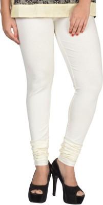 TOP ONE Women's White Leggings