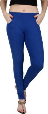 Faded Finch Women's Blue Jeggings