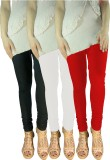 Siyaleggi Women's Black, White, Red Legg...