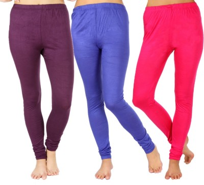 SLS Women's Purple, Blue, Pink Leggings