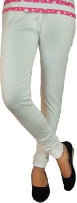 B VOS Girl's White Leggings