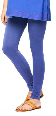 Shiv Fabs Women,s Blue Leggings
