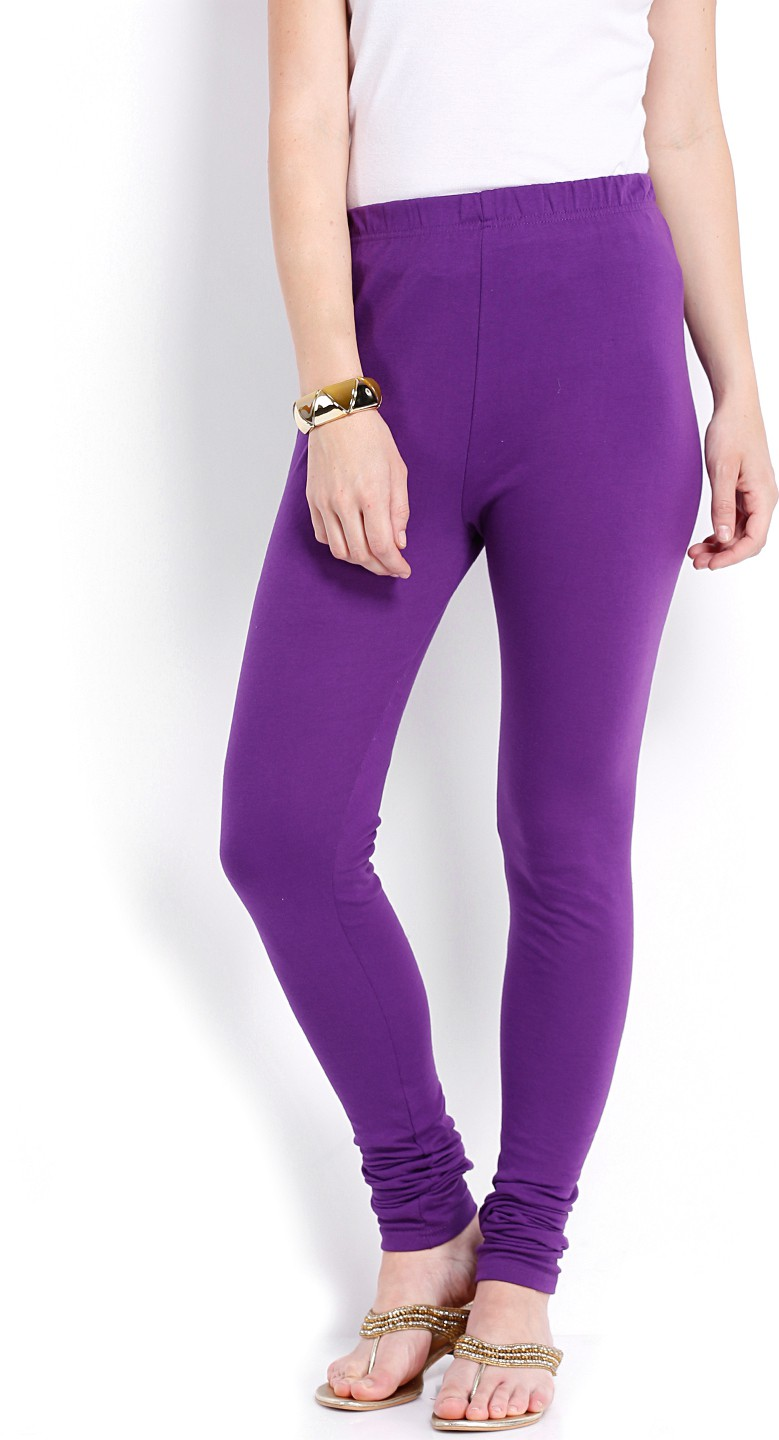 Ten on Ten Womens Purple Leggings