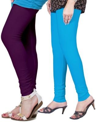 FRONEX INDIA Women's Purple, Light Blue Leggings