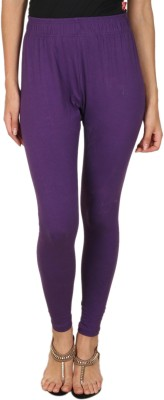 A N, E Women's Purple Leggings