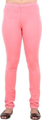 F FASHIONSTYLUS Women's Pink Jeggings