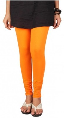 MeritFashion Women's Orange Leggings