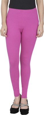 Anekaant Girl's Purple Leggings