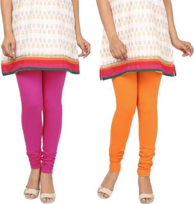 Agrima Fashion Women's Pink, Orange Leggings