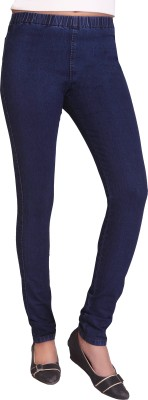 Adbucks Women's Blue Jeggings