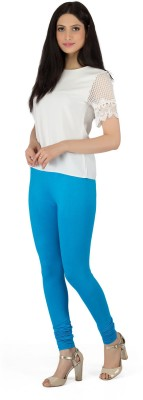 Legrisa Fashion Women's Blue Leggings