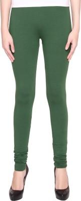 Valentine Women's Dark Green Leggings