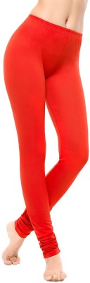 Coucou by Zivame Women's Red Leggings