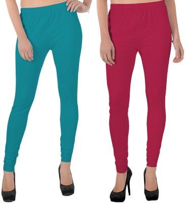 X-Cross Women's Light Blue, Pink Leggings