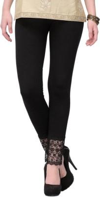 MDS Jeans Women's Black Leggings