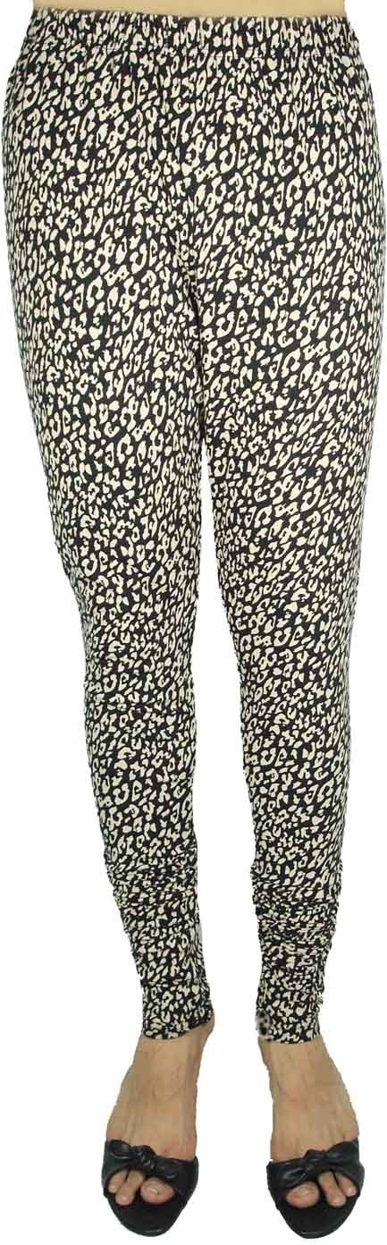 Bluedge Womens Black, Beige Leggings