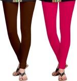 Nova Trendzz Women's Brown, Pink Legging...