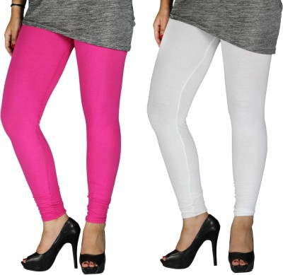 Brood Women's Pink, White Leggings