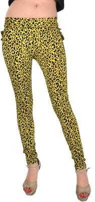 Madaam Women's Yellow Leggings