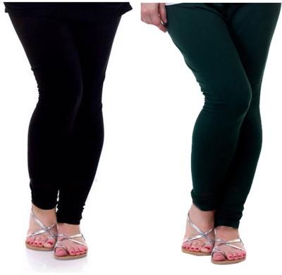 Archway Women's Black, Green Leggings