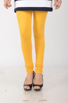EVIZZA Women's Yellow Leggings