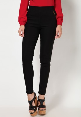 Royal Women's Black Jeggings