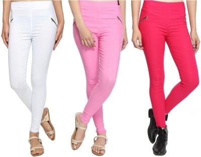 Attract Women's Multicolor Jeggings