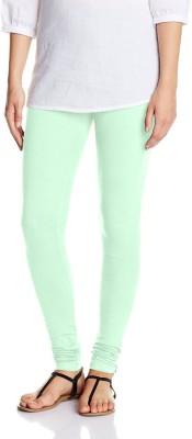 Lavos Women's Light Green Leggings