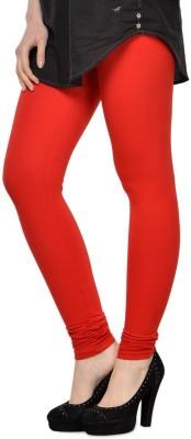 SareeGalaxy Women's Red, Purple, Green Leggings
