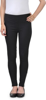 Sanchi Collection Women,s Black Jeggings