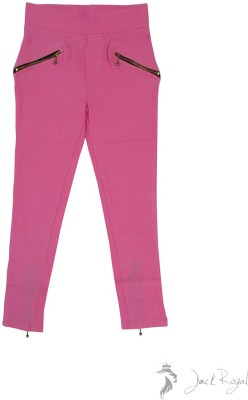 Jack Royal Girl's Pink Jeggings