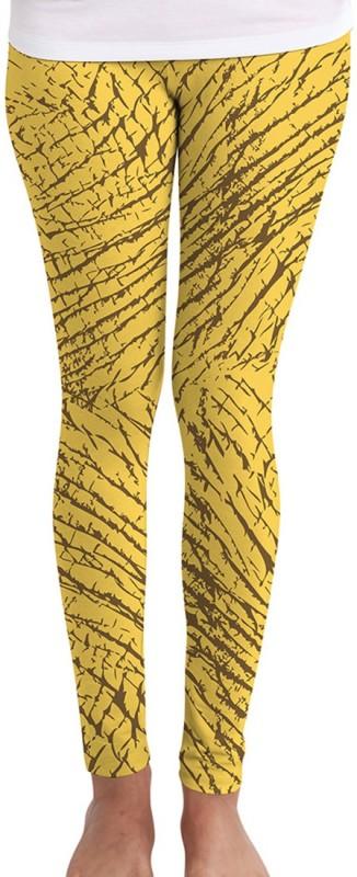 Huetrap Women's Yellow Leggings