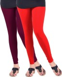 Arma Women's Pink, Orange Leggings (Pack...