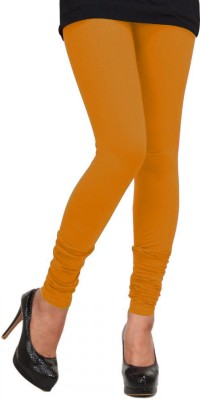 V R SHOPPERS Women's Yellow Leggings
